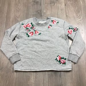Miles Madewell Floral Crewneck Pullover